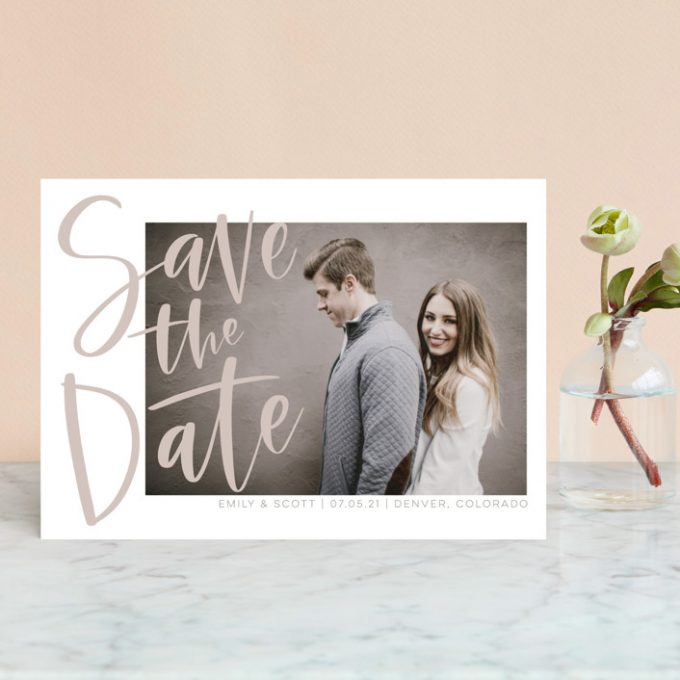 how to save money on wedding response cards