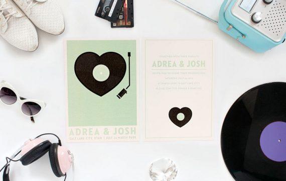 record-player-wedding-invitation