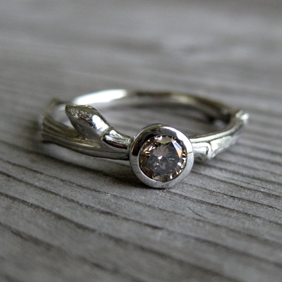 100 Best Non-Traditional Engagement Rings | via http://emmalinebride.com/engagement/non-traditional-engagement-rings/