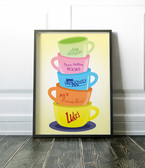 Stars Hollow Mug via 50+ Best Gilmore Girls Gift Ideas https://emmalinebride.com/gifts/50-best-gilmore-girls-gift-ideas/