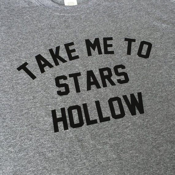 Stars Hollow T Shirt | via 50+ Best Gilmore Girls Gift Ideas https://emmalinebride.com/gifts/50-best-gilmore-girls-gift-ideas/