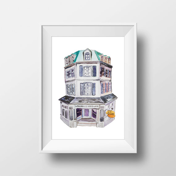 williams-hardware-lukes-diner-watercolor-print-by-watercolorwall