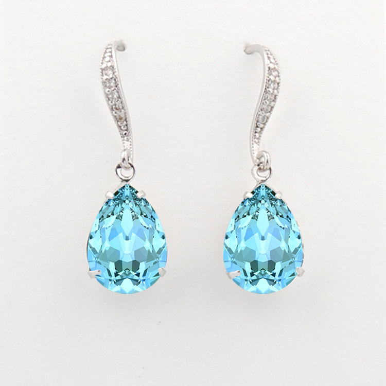 Swarovski Earrings for Bridesmaids by Tigerlilly Couture