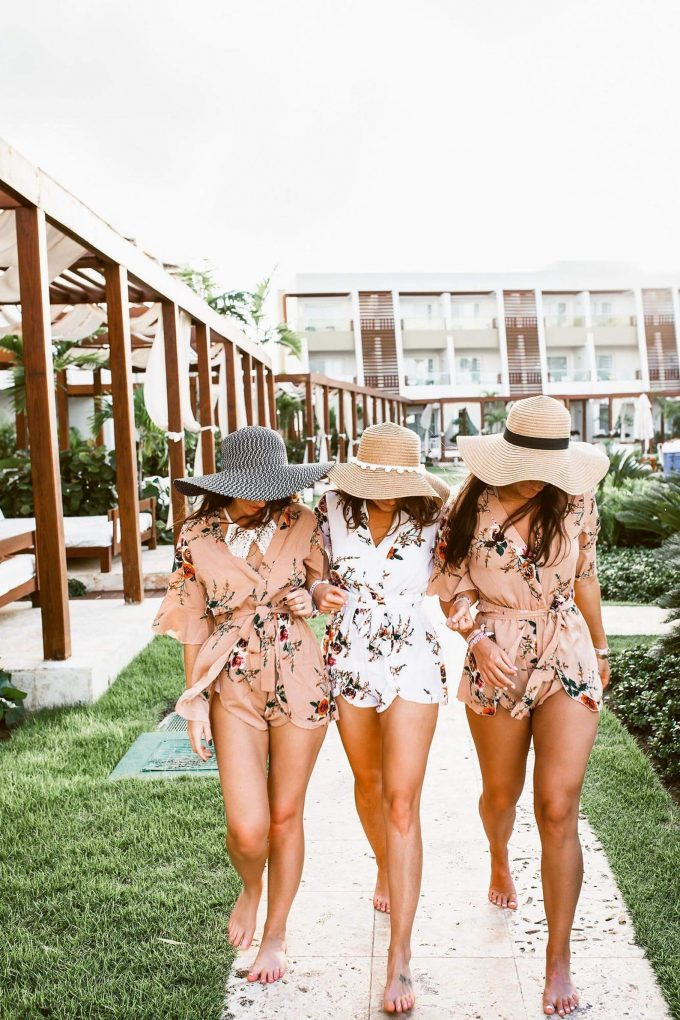 wedding rompers for getting ready
