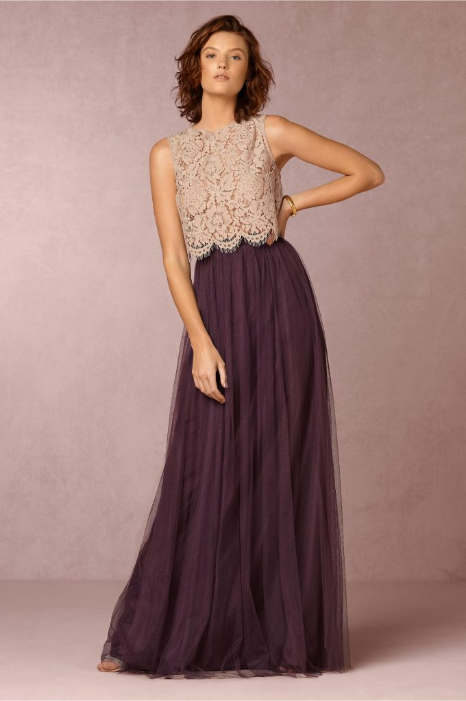 Bridesmaid Tulle Skirts   by Jenny Yoo for BHLDN   http://emmalinebride.com/bridesmaids/top-10-bridesmaid-tulle-skirts/