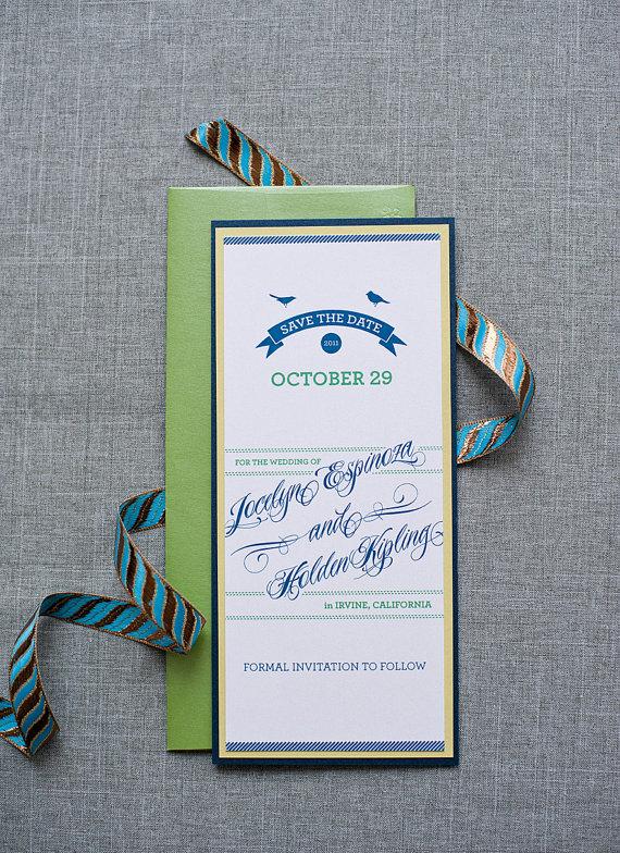 save the date vs invitation? - ask emmaline   http://emmalinebride.com/invites/save-the-date-vs-invitation/