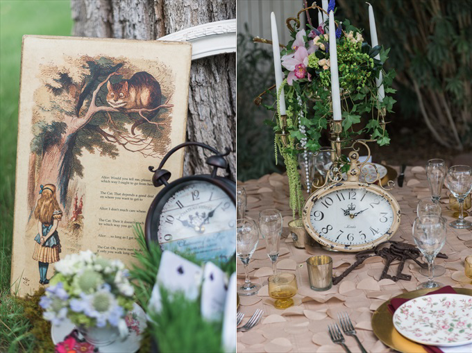 alice_in_wonderland_wedding_clocks