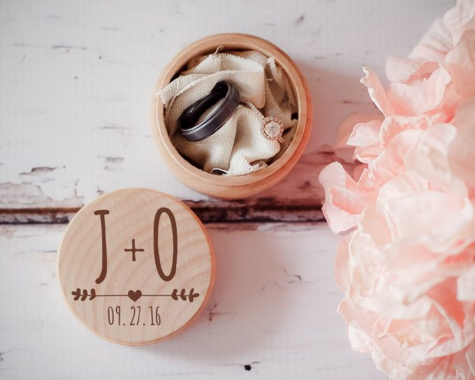 ring box | via Heart and Arrow Wedding Ideas: https://emmalinebride.com/themes/heart-and-arrow-wedding-ideas