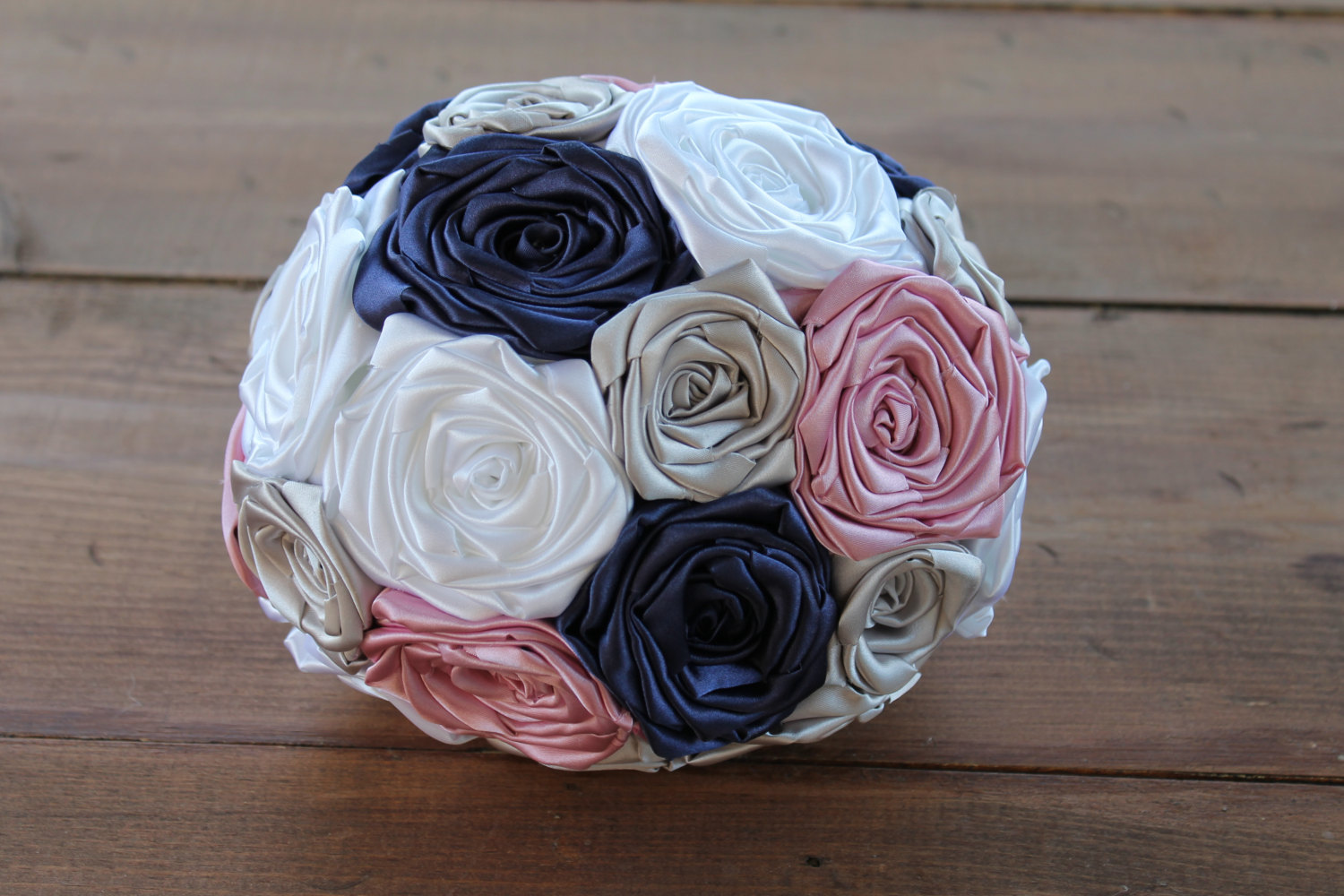Fabric bridal bouquet by Hey Bouquet | http://etsy.me/2jw3WX0 | via https://emmalinebride.com/bride/fabric-bridal-bouquet/