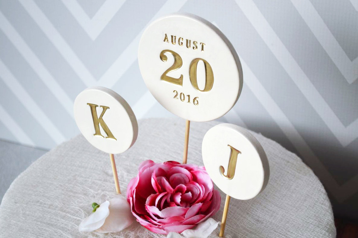 ceramic cake toppers for weddings