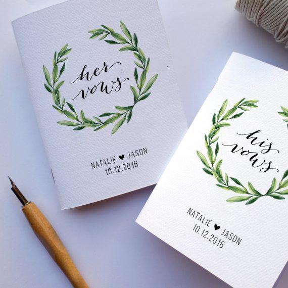 vow books for weddings   http://etsy.me/2kbPdox