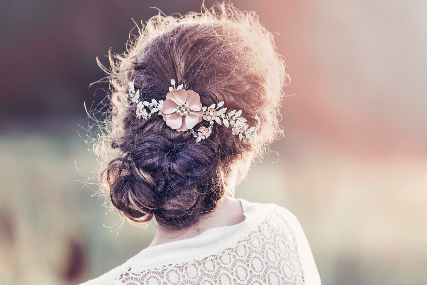 Bridal hair vines for weddings | by Gadegaard Design | photo by Tina Liv | https://emmalinebride.com/bride/bridal-hair-vines-for-weddings/