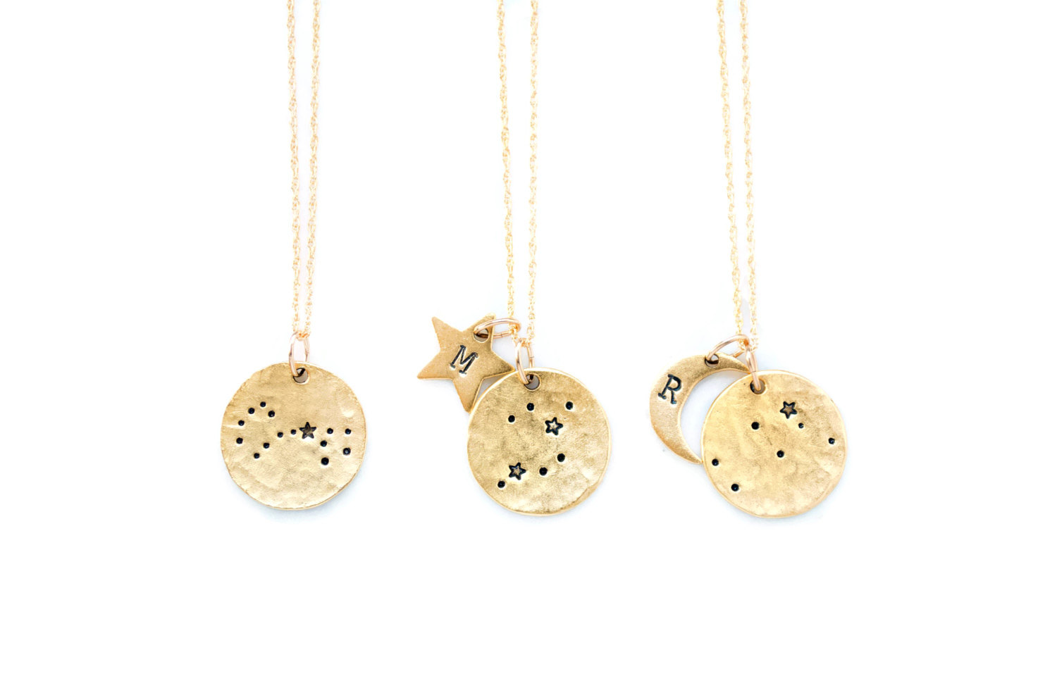 constellation necklaces for bridesmaids gifts