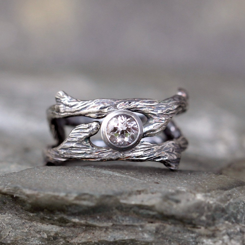 10 Nature Inspired Engagement Rings on Etsy | http://emmalinebride.com/rings/nature-inspired-engagement-rings-etsy/