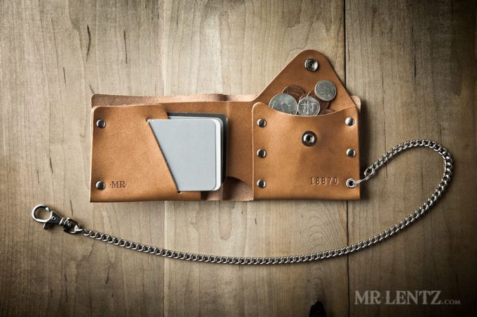 best man gift to groom | wallet by mr lentz