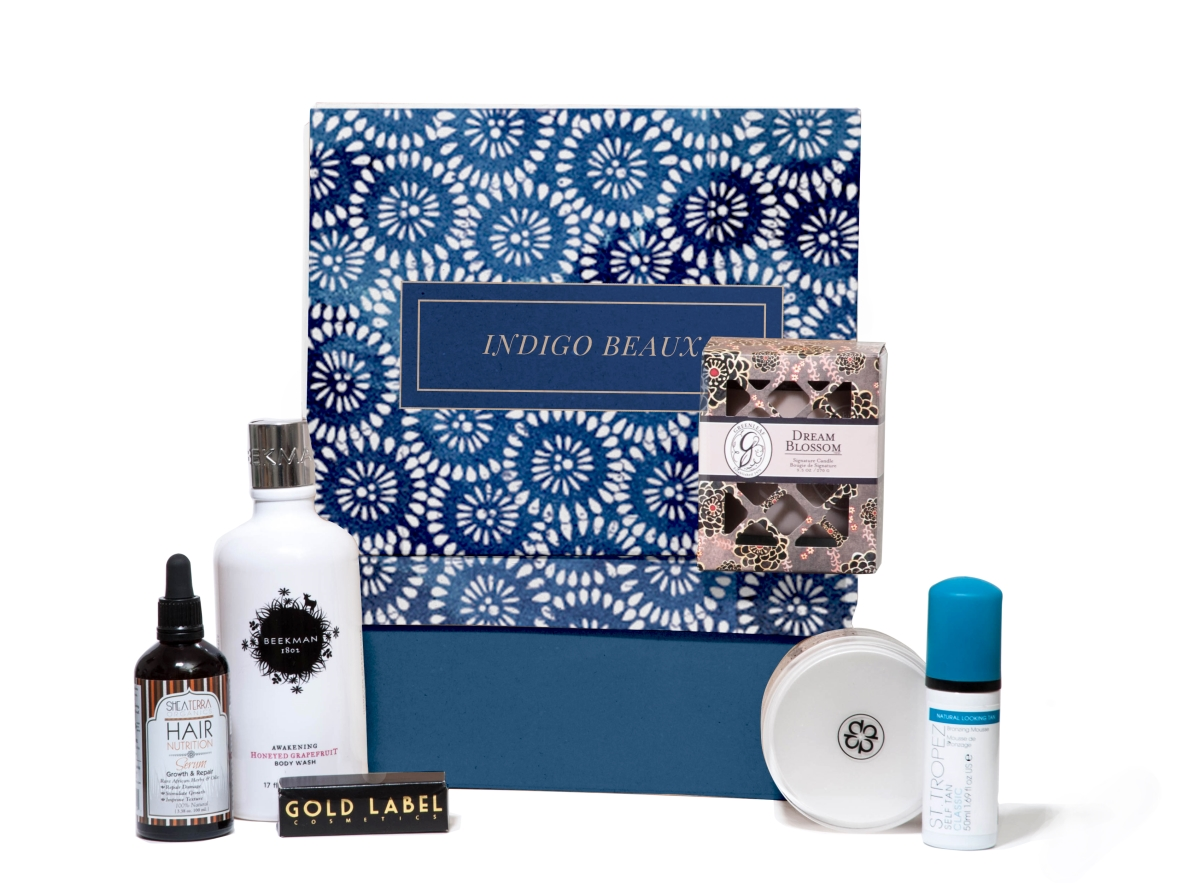Luxury Gift Idea for the Bride: Indigo Beaux