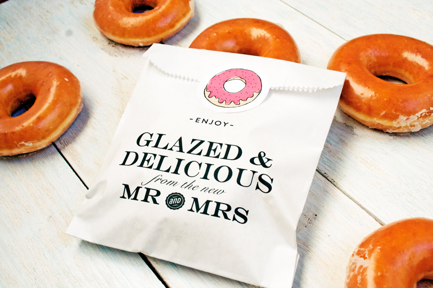 donut stand for wedding