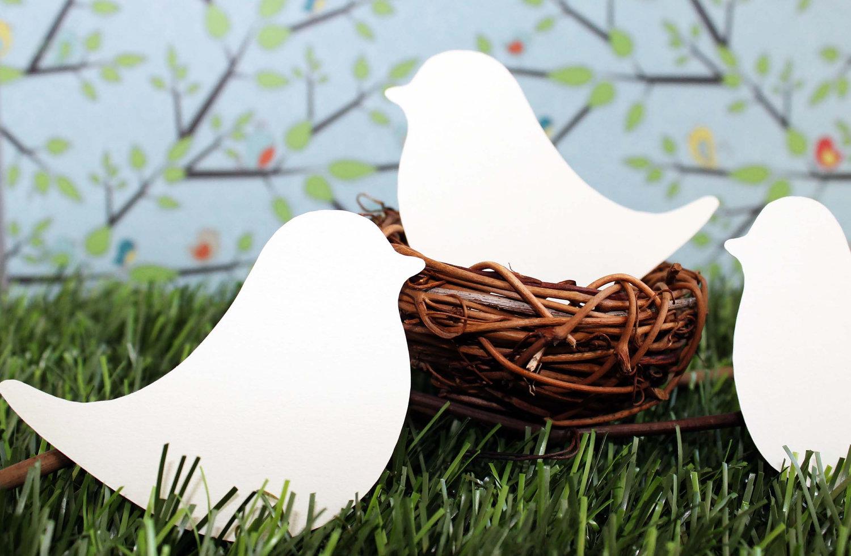 bird place cards