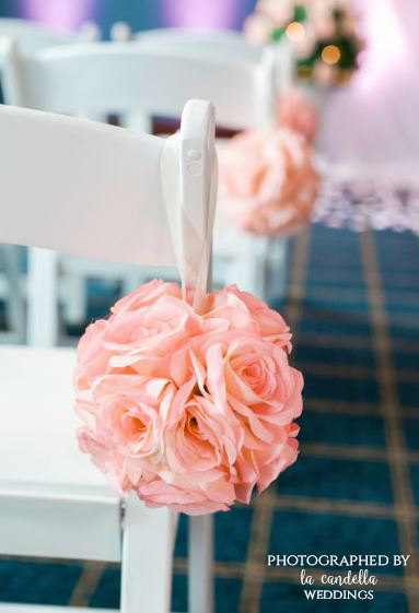 pink rose wedding ideas