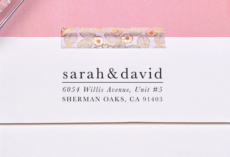 Do You Need Return Address on Save the Dates? | Ask Emmaline | https://emmalinebride.com/invites/return-address-on-save-the-dates/ | stamp by Letter2Love