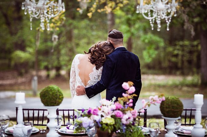Secret Garden Wedding Inspiration | https://emmalinebride.com/real-weddings/secret-garden-wedding-inspiration/ | photo by Marcus Anthony Photography