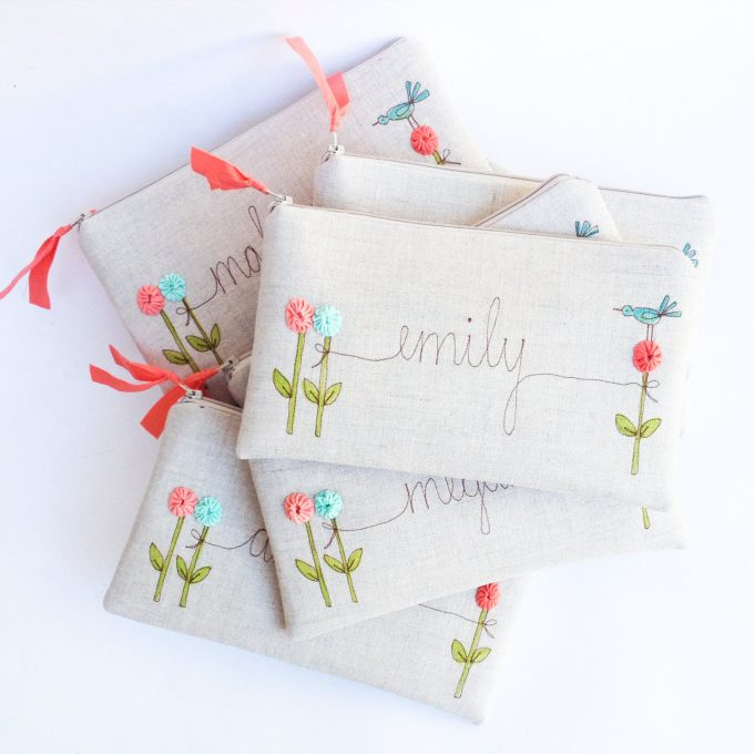 what is a good gift for flower girl? - ask emmaline | wristlet by mama blue designs