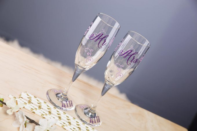 who buys champagne flutes for bride and groom? - ask emmaline | wedding advice