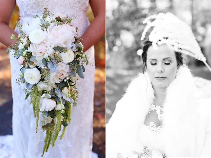 Lauren and Jamie's Wolf Mountain Vineyards Wedding - https://emmalinebride.com/real-weddings/wolf-mountain-vineyards-wedding | Melissa Prosser Photography