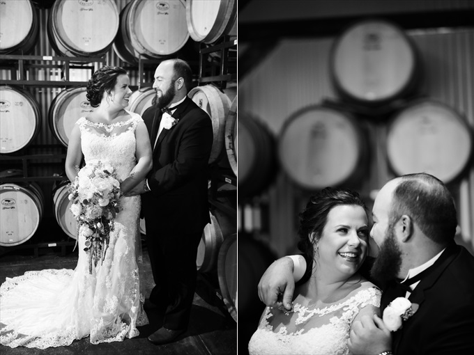 Lauren + Jamie's Spectacular Wedding at the Wolf Mountain Vineyards! - https://emmalinebride.com/real-weddings/wolf-mountain-vineyards-wedding | Melissa Prosser Photography
