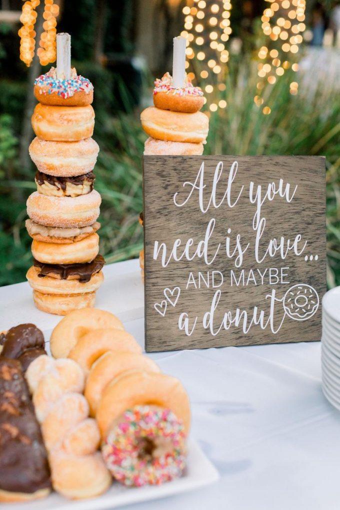 donut ideas for weddings
