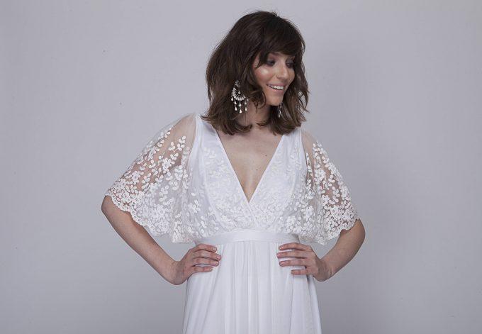12 Effortlessly Romantic Bohemian Wedding Dresses
