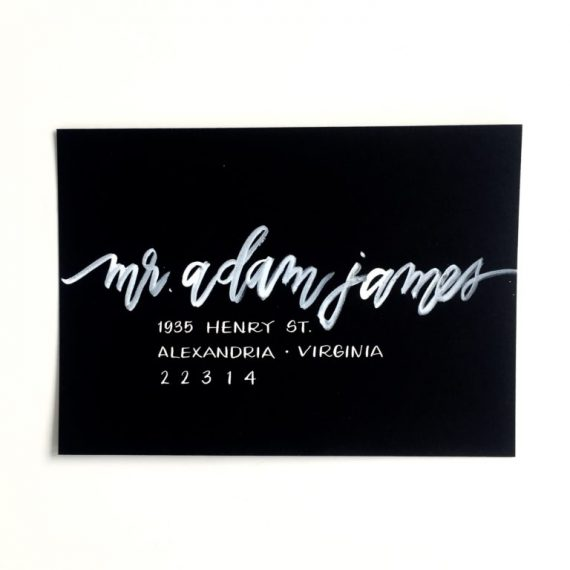 handwritten calligraphy wedding invitations & party goods by laura hooper calligraphy