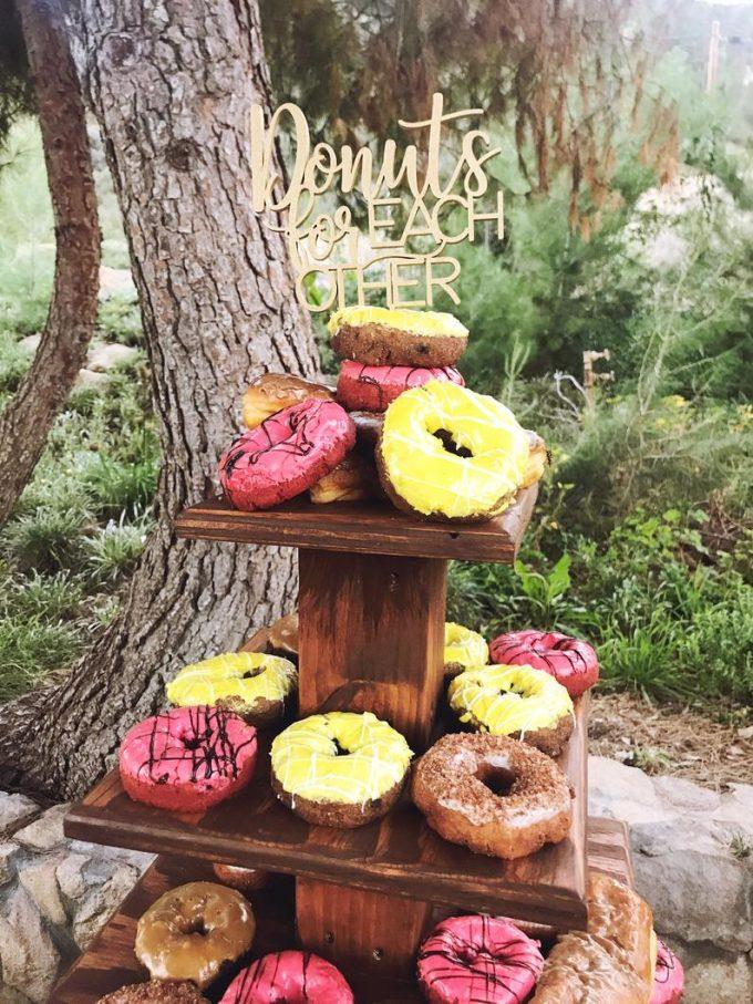 donut wedding ideas