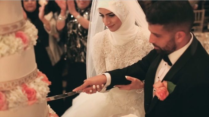 An Amazing Arabic Wedding on Video at the Fairmont Hotel - https://emmalinebride.com/real-weddings/an-amazing-arabic-wedding-on-video-at-the-fairmont-hotel | Baby Blue Film - San Francisco Wedding Videographer