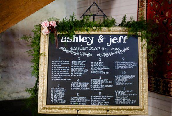 beautiful wedding seating charts