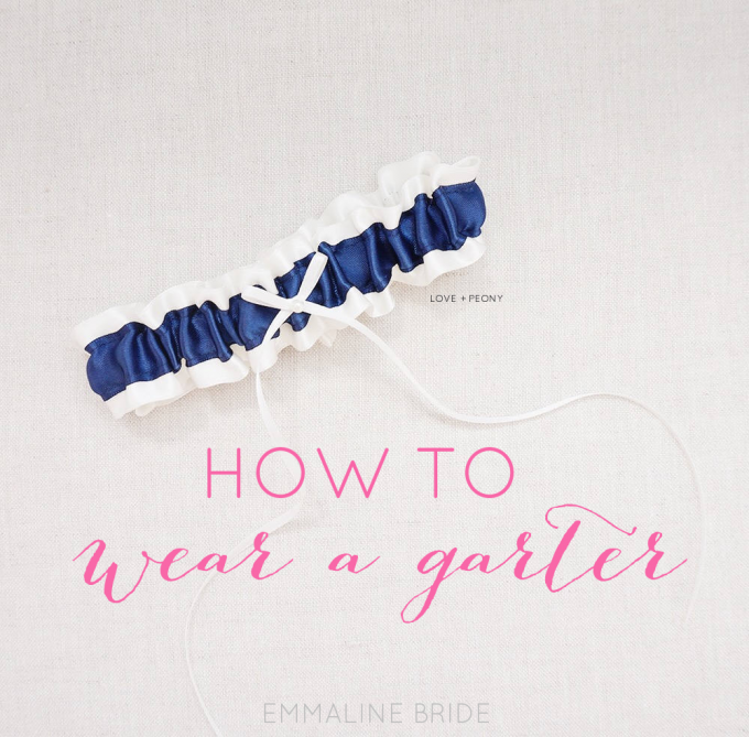 How to Wear a Garter