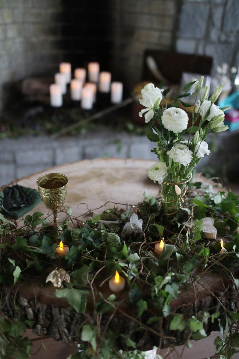 fairytale wedding - medieval fairytale wedding ideas | photo by melissa prosser photography