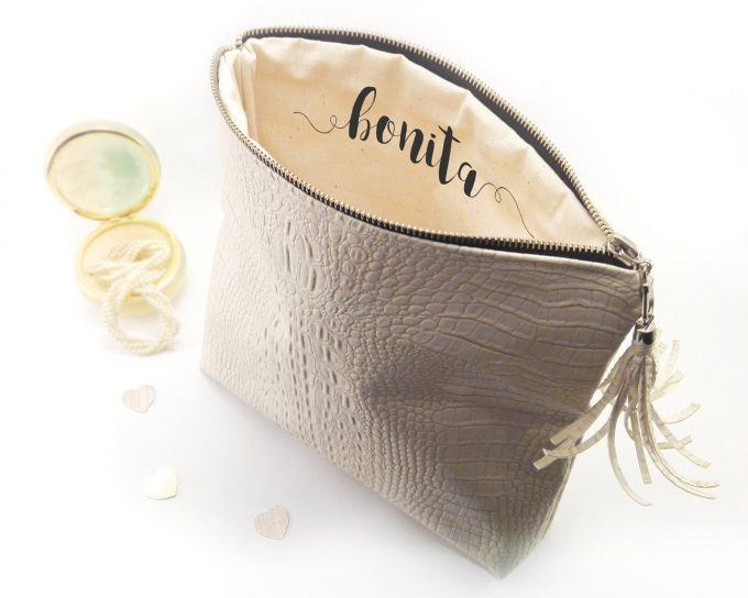 simple bridal clutch you can use again