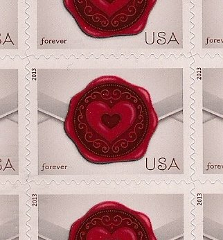 wax seal postage stamps for wedding invitations