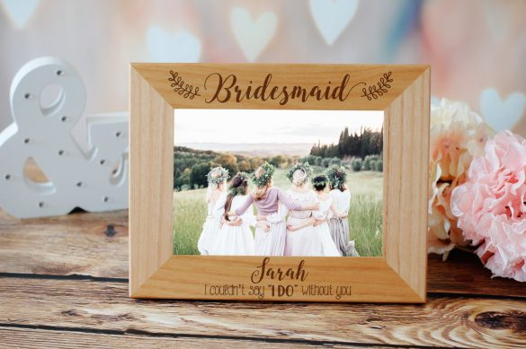 can't say i do without you bridesmaid photo frame // via bridesmaid gift under $100