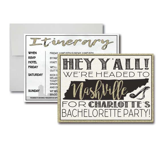 Nashville bachelorette party ideas