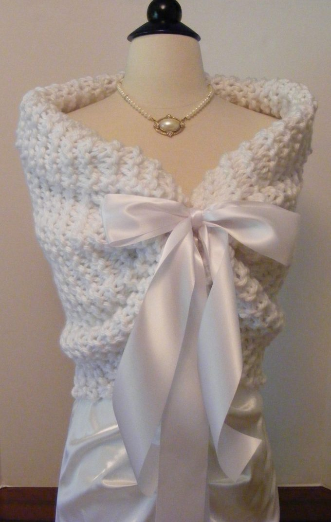 wedding shawl for the bride