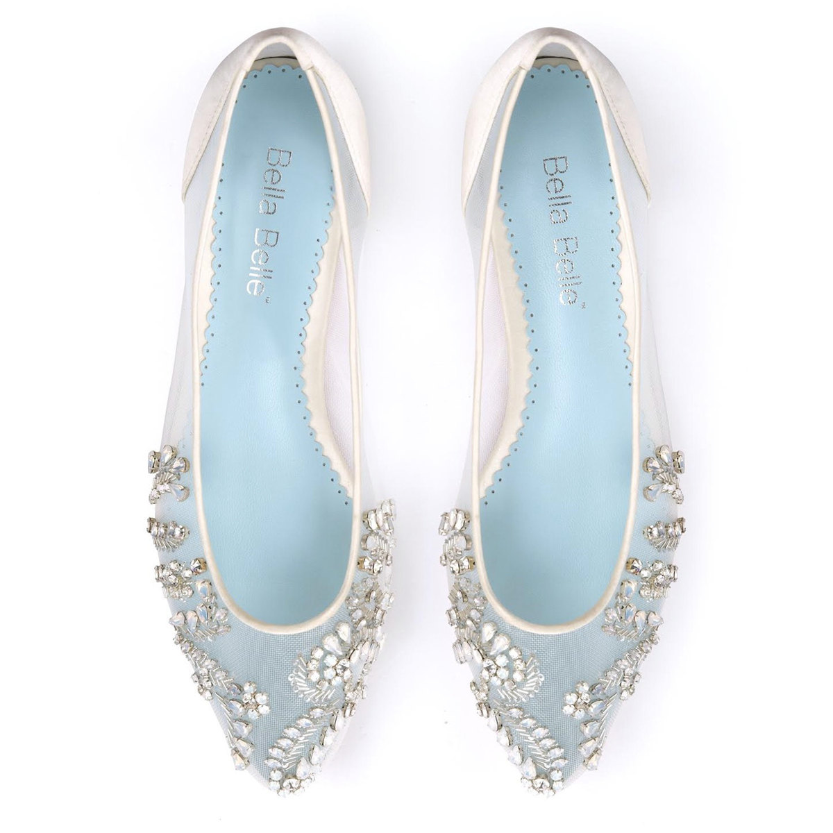 pointed toe bridal shoes