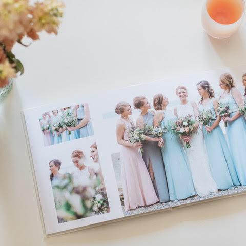 How to Make a Wedding Photo Album Book
