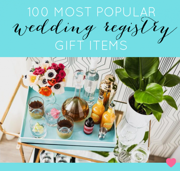 most popular wedding registry items on amazon