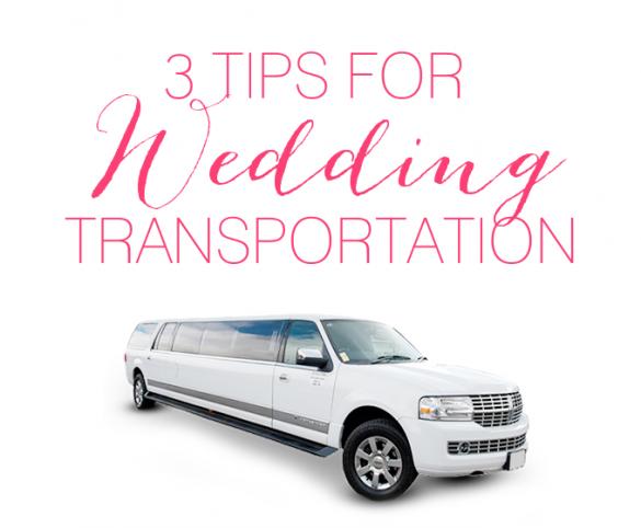 wedding transportation tips