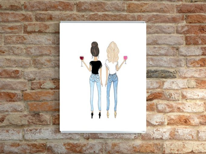 be my bridesmaid gift ideas illustation by roxy's illustrations