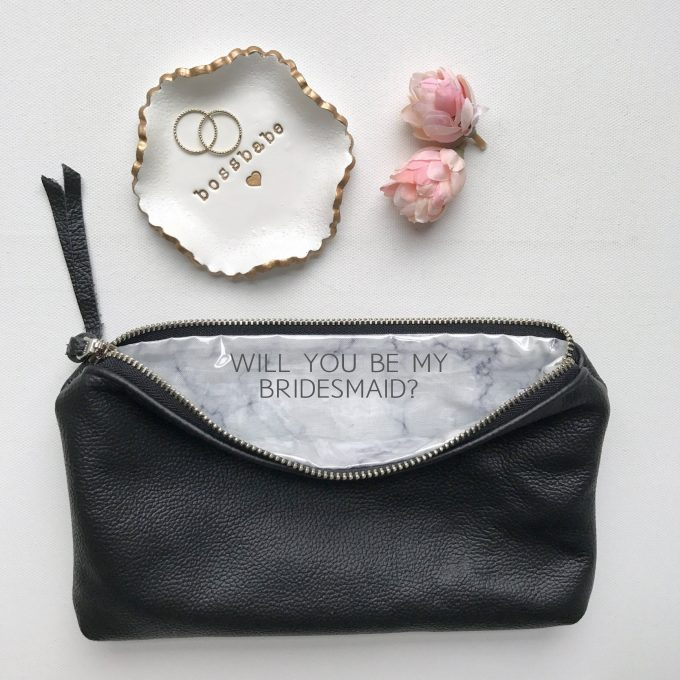 be my bridesmaid bag