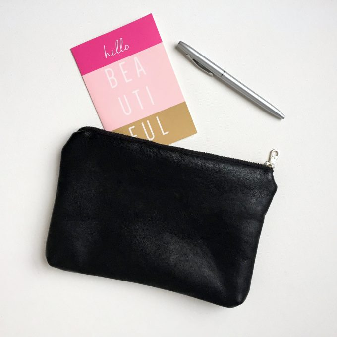 inspirational clutch purse - inside says you are amazing, remember that