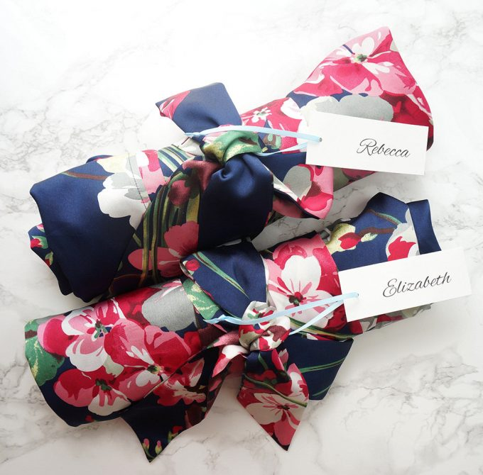 floral bridesmaid robes via https://www.etsy.com/shop/loveandpeony
